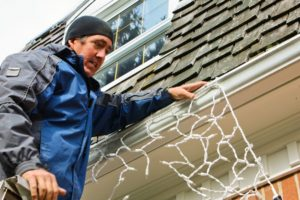 Here are a few things to keep in mind so you can decorate for Christmas without damaging your roof.